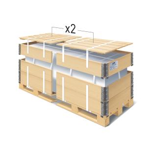 Упаковка грузов в паллетный борт — Деловые линии