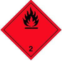 2.3 Воспламеняющиеся (горючие) газы