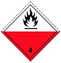 4.2 Самовозгорающиеся вещества