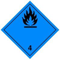 4.3 Вещества, выделяющие воспламеняющиеся газы при взаимодействии с водой