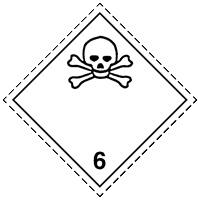 6.1 Ядовитые вещества
