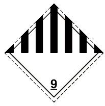 9.1 Грузы, не отнесенные к классам 1 - 8